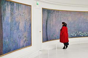 Monets Seerosen im Musée de l'Orangerie, Paris © Adrian Scottow (Wikipedia)