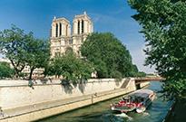 Paris: Seine vor Notre-Dame © WCT-Bildarchiv