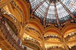 Glaskuppel der Galeries Lafayette in Paris © Ana del Castillo (Shutterstock.com)