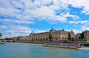 Musee d'Orsay an der Seine in Paris © MarinaDa (Shutterstock.com)