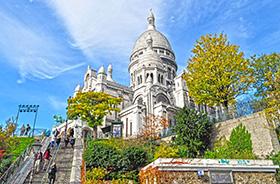 Sacre Coeur, Montmartre, Paris © Dito Dolidze (Shutterstock.com)